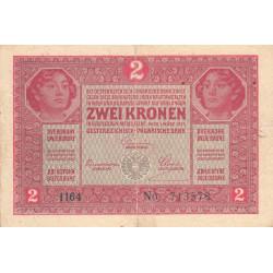 Autriche - Pick 21 - 2 kronen - 1917 - Etat : TB+