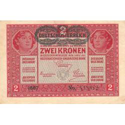 Autriche - Pick 50 - 2 kronen - 1919 - Etat : TTB