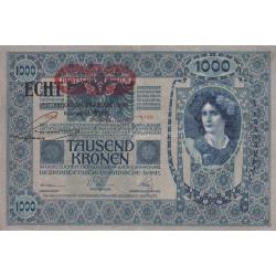 Autriche - Pick 58 - 1'000 kronen - 1919 - Etat : SUP