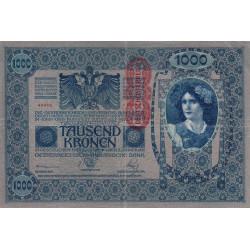 Autriche - Pick 59 - 1'000 kronen - 1919 - Etat : TB+