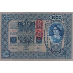 Autriche - Pick 59 - 1'000 kronen - 1919 - Etat : TTB+
