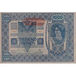 Autriche - Pick 61 - 1'000 kronen - 1919 - Etat : TB