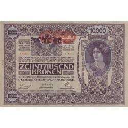 Autriche - Pick 66 - 10'000 kronen - 1919 - Etat : SUP