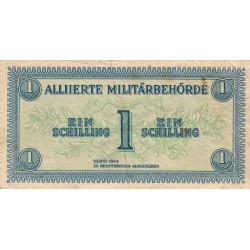 Autriche - Pick 103b - 1 shilling - 1944 - Etat : TB+