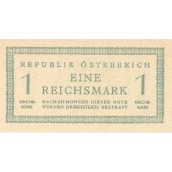Autriche - Pick 113b - 1 reichsmark - 20/12/1945 - Etat : NEUF