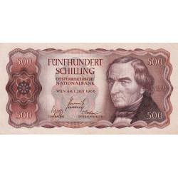 Autriche - Pick 139 - 100 shilling - 1965 - Etat : TTB