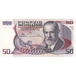 Autriche - Pick 149 - 50 schilling - 02/01/1986 - Etat : SPL
