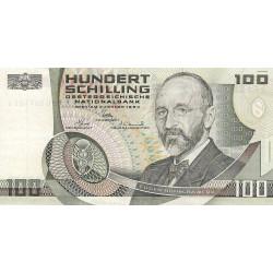 Autriche - Pick 150_1 - 100 schilling - 1984 - Etat : TTB+