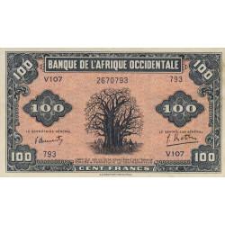 AOF - Pick 31a - 100 francs  - Etat : SUP+