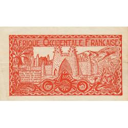 AOF - Pick 33_1 - 50 centimes - Etat : TTB