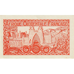 AOF - Pick 33_1 - 50 centimes - 1944 - Etat : SUP+