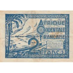 AOF - Pick 35 - 1 franc
