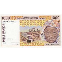Burkina-Faso - Pick 311Ci - 1'000 francs - 1998 - Etat : NEUF