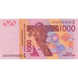 Burkina-Faso - Pick 315Ca - 1'000 francs - 2003 - Etat : NEUF