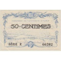 Alais (Alès) - Pirot 4-1 - 50 centimes - Série R - 16/08/1915 - Etat : SPL