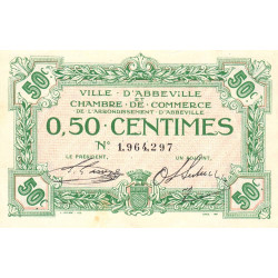 Abbeville - Pirot 1-13 - 50 centimes - Sans date - Etat : SUP