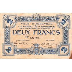 Abbeville - Pirot 1-5b - 2 francs - Sans date - Etat : TB