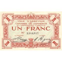 Abbeville - Pirot 1-15b - 1 franc - Sans date - Etat : SUP