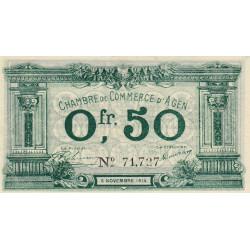 Agen - Pirot 002-01a - 50 centimes
