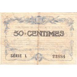 Alais (Alès) - Pirot 4-1 - 50 centimes - Série L - 16/08/1915 - Etat : TB+