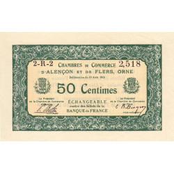 Alençon / Flers (Orne) - Pirot 6-23 - 50 centimes - 1915 - Etat : SPL