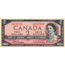 Canada - Pick 76b - 2 dollars - 1961 - Etat : TTB+
