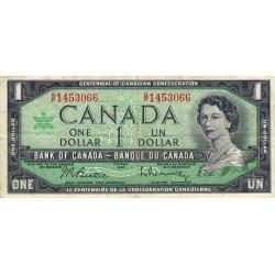 Canada - Pick 84b1 - 1 dollar - 1967 - Commémoratif - Etat : TTB-