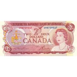 Canada - Pick 86a_1 - 2 dollars - 1974 - Etat : SPL