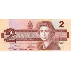 Canada - Pick 94a1 - 2 dollars - 1986 - Etat : NEUF