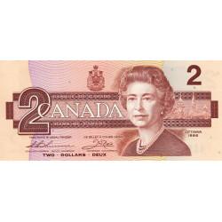 Canada - Pick 94b_1 - 2 dollars - 1987 - Etat : NEUF