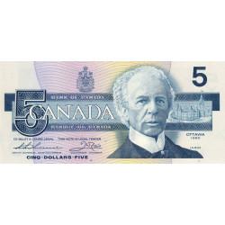 Canada - Pick 95b_2 - 5 dollars - 1990 - Etat : NEUF
