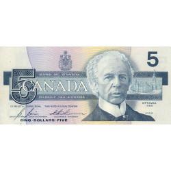 Canada - Pick 95c2 - 5 dollars - 1994 - Etat : TTB+