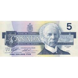 Canada - Pick 95d1 - 5 dollars - 1999 - Etat : SUP+ à SPL