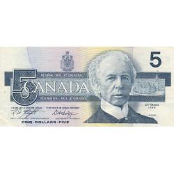 Canada - Pick 95e1 - 5 dollars - 2001 - Etat : TTB