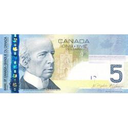 Canada - Pick 101Ad - 5 dollars - 2010 - Etat : NEUF