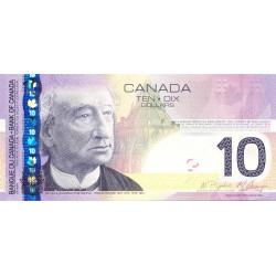 Canada - Pick 102Ae - 10 dollars - 2009 - Etat : NEUF
