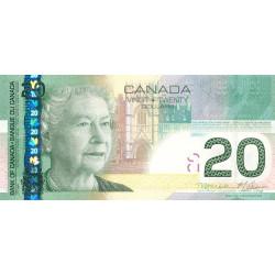Canada - Pick 103h - 20 dollars - 2011 - Etat : NEUF