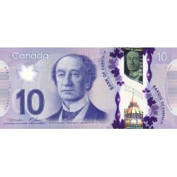 Canada - Pick 107a - 10 dollars - 2013 - Polymère - Etat : NEUF