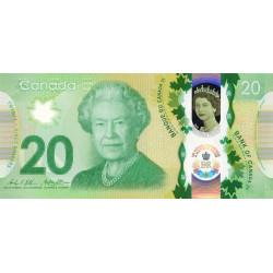 Canada - Pick 111 - 20 dollar - 2015 - Polymère commémoratif - Etat : NEUF