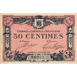 Angoulême - Pirot 9-13 - 50 centimes - 1915 - Etat : TB+