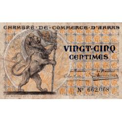 Arras - Pirot 13-3 - 25 centimes - Sans date - Etat : TB-