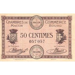 Macon et Bourg - Pirot 78-1 - 50 centimes - 1915 - Etat : SUP