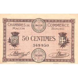 Macon et Bourg - Pirot 78-1 - 50 centimes - Sans série - 01/09/1915 - Etat : TTB