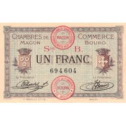 Macon / Bourg - Pirot 78-6 - 1 franc - Etat : SUP+