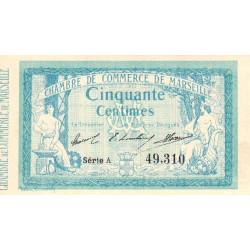 Marseille - Pirot 79-1 variété - 50 centimes - Série A - 12/08/1914 - Etat : NEUF