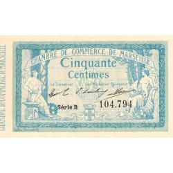 Marseille - Pirot 79-1 - 50 centimes - Série B - 12/08/1914 - Etat : TTB
