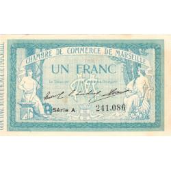 Marseille - Pirot 79-11 - 1 franc - Série A - 12/08/1914 - Etat : TTB