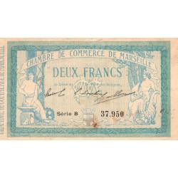 Marseille - Pirot 79-18 - Série B - 2 francs - 1914 - Etat : TB