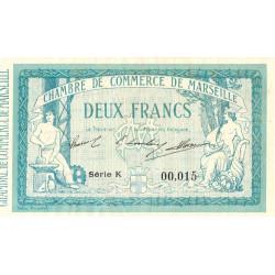 Marseille - Pirot 79-18 - Série K - 2 francs - 1914 - Etat : SUP