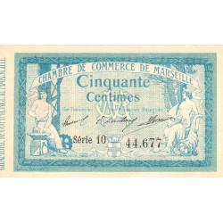 Marseille - Pirot 79-27 - 50 centimes - Série 10 - 12/08/1914 - Etat : SUP+